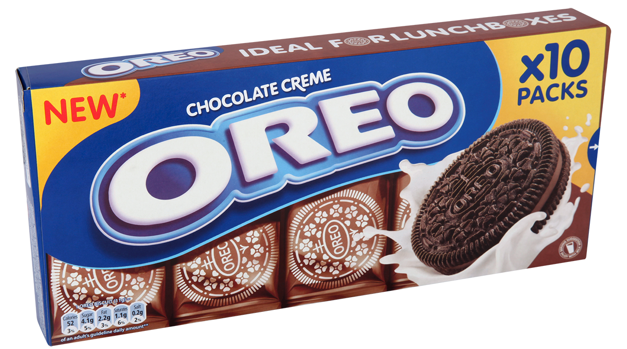 Oreo Chocolate Creme Snack Packs x10