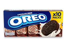 Oreo Chocolate Creme Snack Pack X 10